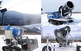 人工降雪設備工事